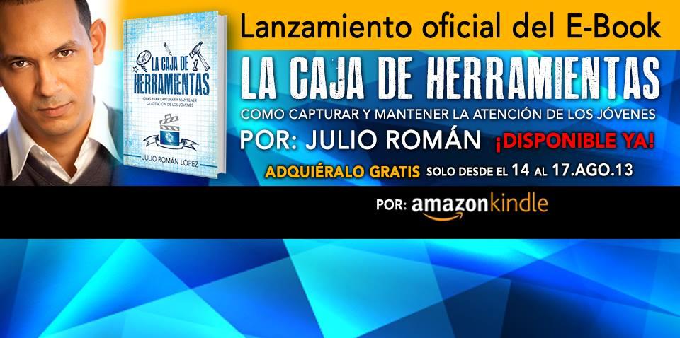 """Julio Román lanza su primer libro: """"La caja de herramientas"""""""