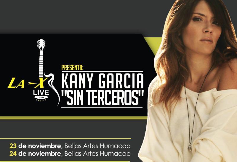 Abre segunda función de Kany García en Humacao