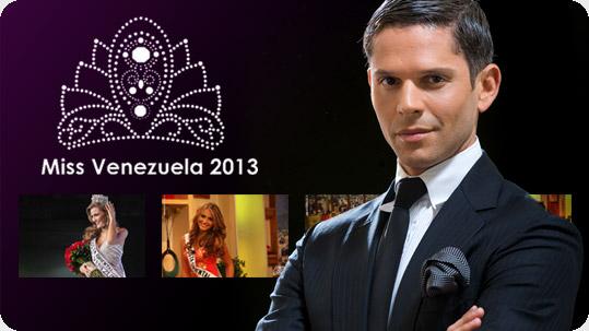 Rodner Figueroa fue parte del panel de jurados de Miss Venezuela 2013