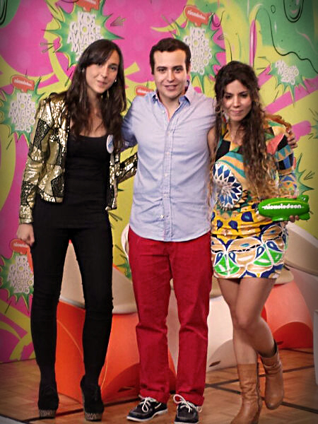 Fundación Techo Para Mi País Colombia y Duina del Mar reciben premio Nickelodeon en los Kids' Choice Awards
