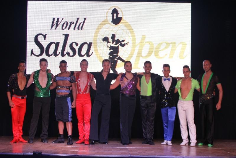 """Puerto Rico, España, Argentina, Colombia, Brasil, Estados Unidos, Italia y Francia pasan a la semifinal en la categoría solista del """"World Salsa Open"""""""