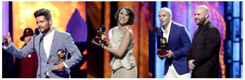Artistas y Autores de SESAC Latina ganan el Latin Grammy®
