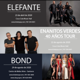BEA MUSIC ADELANTA PARTE DE SU VARIADA  OFERTA DE ESPECTÁCULOS PARA EL 2020