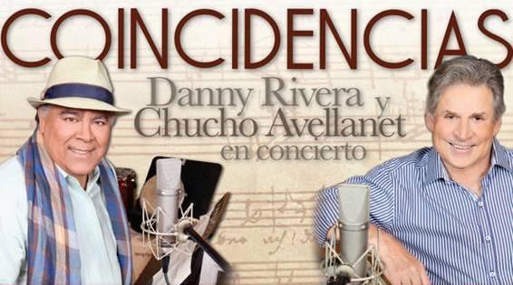 """""""Coincidencias"""" con Chucho Avellanet y Danny Rivera"""