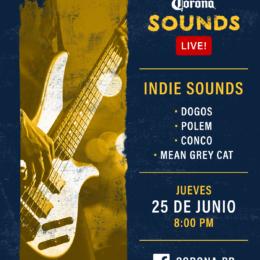 Noche de Indie y Rock en el Corona Sounds Live