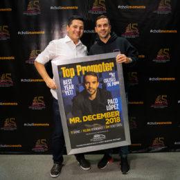 El productor Paco López es reconocido por el Coliseo de Puerto Rico