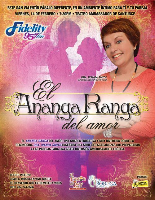 Celebra el 14 de febrero con El Ananga Ranga del Amor