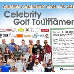 "CELEBRITY GOLF TOURNAMENT A BENEFICIO DE LA FUNDACION ANTHONY ""JUNIOR"" SOTO"