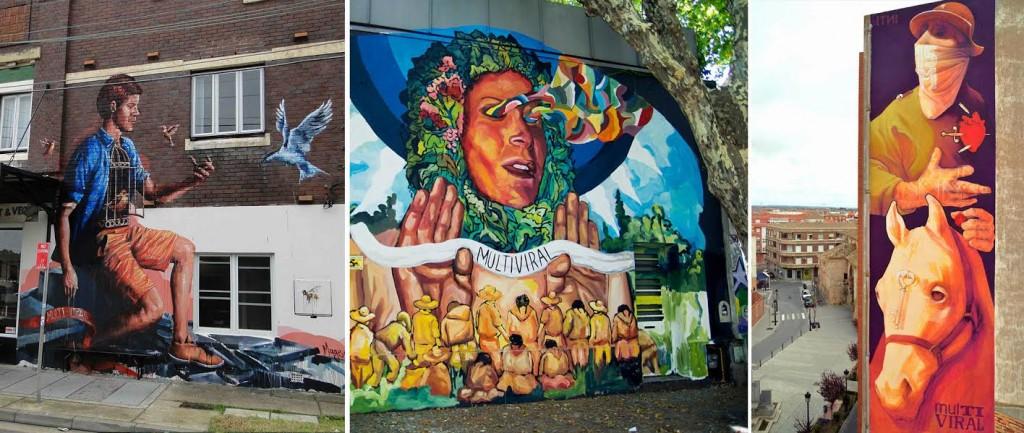 Calle 13 comparte su proyecto de Arte Multiviral
