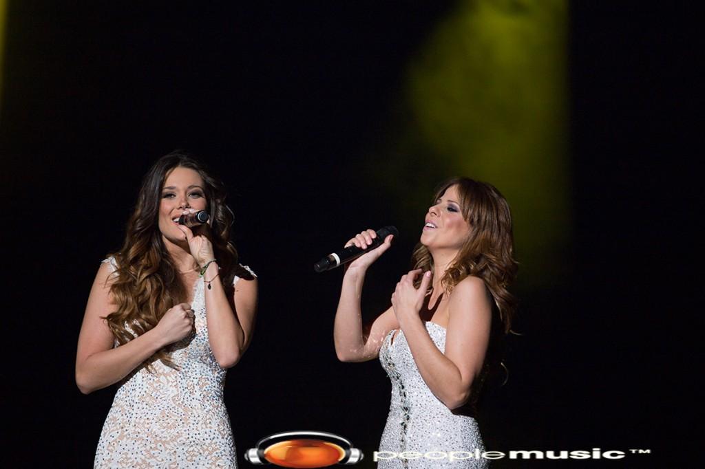 Pastora Soler y Lorena Gomez 'Y que pequeña que soy yo'
