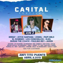 """LLEGA A PUERTO RICO LA PRIMERA EDICIÓN DEL PARTY URBANO-POP """"CAPITAL FESTIVAL"""""""
