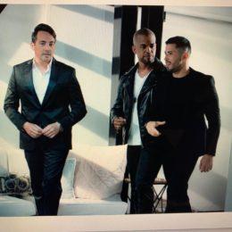"""""""Papa consentido"""" con Tommy Ramos, Jose """"El Negro"""" Figueroa y Guillermo Jose Torres"""