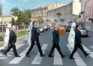 PRO ARTE MUSICAL CON CUARTETO DE VIRTUOSOS CHELISTAS RUSOS