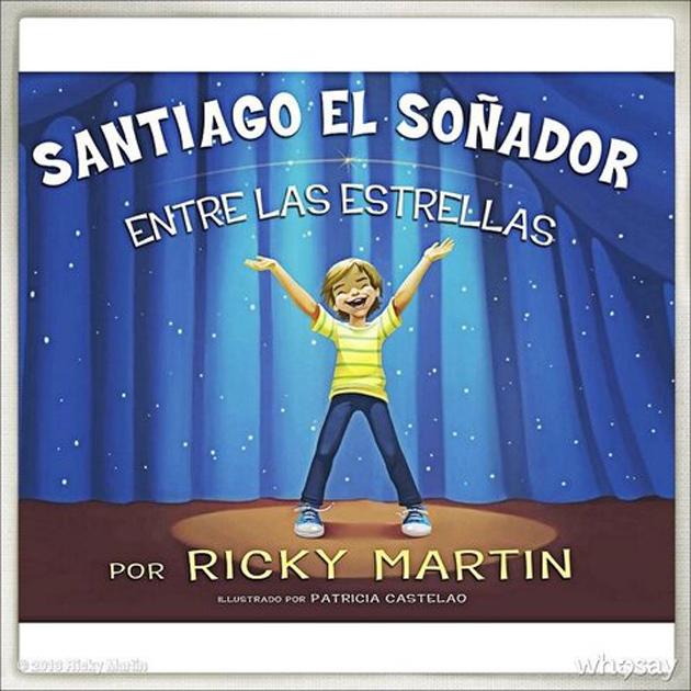 Ricky Martin comparte su libro infantil en Puerto Rico