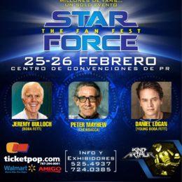 ACTORES DE LA SAGA DE STAR WARS LLEGAN A PUERTO RICO