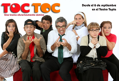 Llega  TOC TOC a Ponce