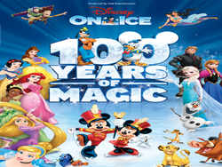 DISNEY ON ICE CELEBRA SU FUNCION #100  EN EL COLISEO DE PUERTO RICO