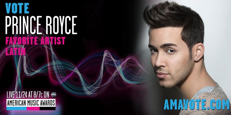 PRINCE ROYCE NOMINATED FOR AN AMERICAN MUSIC AWARD