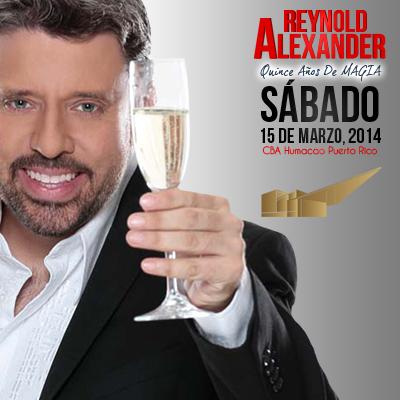 REYNOLD ALEXANDER LLEVA SU MAGIA EL CBA DE HUMACAO
