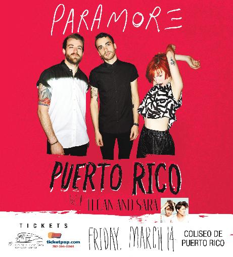 Paramore en Puerto Rico