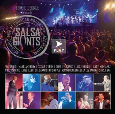 "Latinoamérica premia a ""Sergio George Presents: Salsa Giants"""