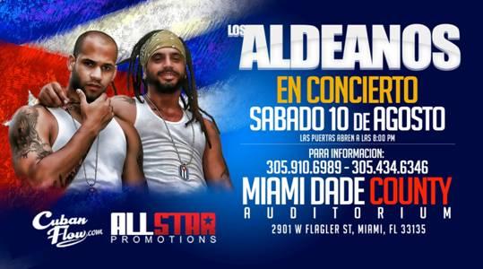 """""""Los Aldeanos"""" en el Miami-Dade County Auditórium"""