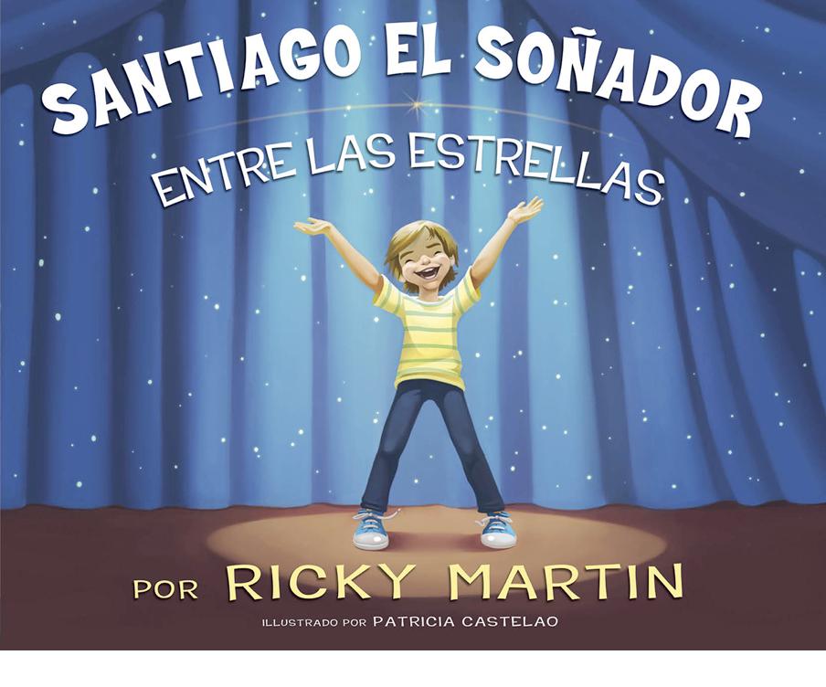 Ricky Martin lanza libro para niños