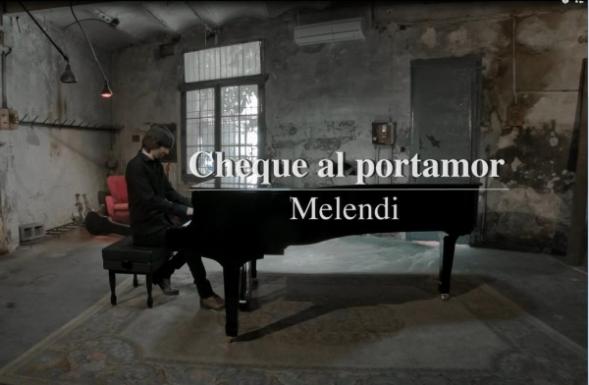 """Melendi Presenta """"Cheque Al Portamor"""", su nuevo single"""