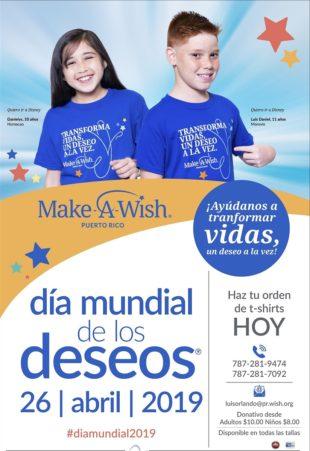 Make-A-Wish Puerto Rico prepara su Dia Mundial de los Deseos