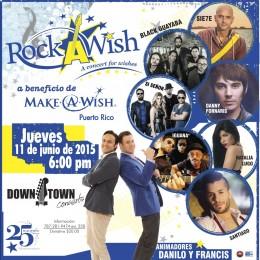 """ROCK Y MUCHO ROCK PARA CUMPLIR DESEOS """"Rock-A-Wish"""""""