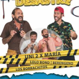 """""""ZONA DE DESASTRE"""" NOCHE DE COMEDIA Y TRIBUTO"""