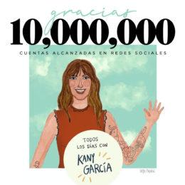 """KANY GARCIA gran éxito con su serie de """"lives"""""""