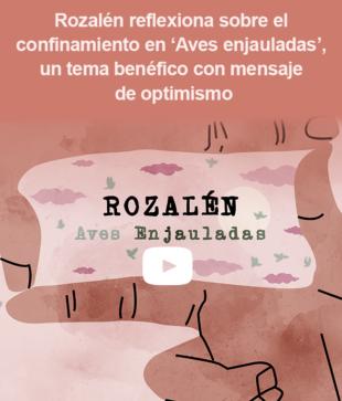 Rozalén reflexiona sobre el confinamiento en 'Aves enjauladas'