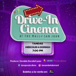 "Inaugura el ""Drive In Cinema"" en The Mall Of San Juan"