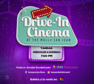 "Inaugura el ""Drive In Cinema"" en The Mall Of San Juan"