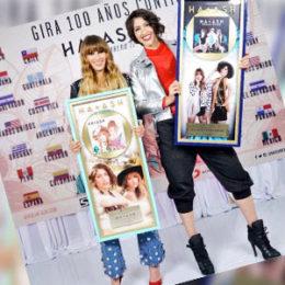Ha*Ash recibió Disco de Oro por su álbum 30 de Febrero