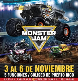REGRESA EL SHOW DE MONSTER JAM