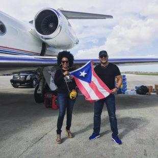 """AYMEE NUVIOLA & REY RUIZ LANZAN EL TEMA """" PA'LANTE PUERTO RICO """""""