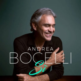 ANDREA BOCELLI SE REÚNE DE COMPAÑEROS ESTELARES PARA LOS DÚOS DE SU NUEVO ÁLBUM 'SI'