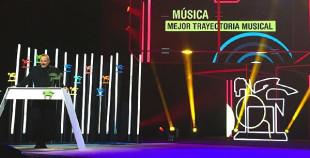 Miguel Bosé Recibió el Premio Ondas a la Trayectoria Musical