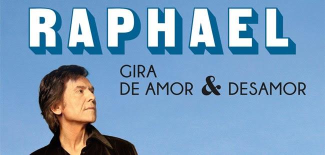 Raphael presenta su nueva gira 'De Amor & Desamor' el 13 de septiembre