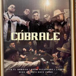 """Tito """"El Bambino-El Patrón"""" presenta su nuevo sencillo """"Cóbrale"""""""