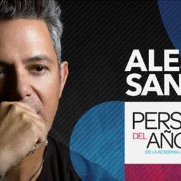 ALEJANDRO SANZ NOMBRADO PERSONA DEL AÑO 2017