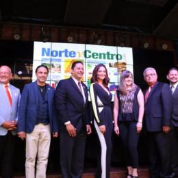 Denisse Quiñones se une a 8 alcaldes rojos y azules para promover la región Norte-Central