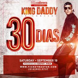 DADDY YANKEE Sólo faltan 30 días para su importante cita en el Madison Square Garden
