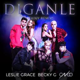 """LESLIE GRACE estrena """"DÍGANLE"""" con BECKY G & CNCO"""