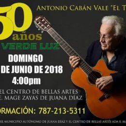 """50 Años de Verde Luz – Antonio Cabán Vale """"El Topo"""""""