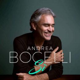 """ANDREA BOCELLI Anuncia el Lanzamiento de su Primer Álbum Inédito en 14 Años """"Sĺ"""""""