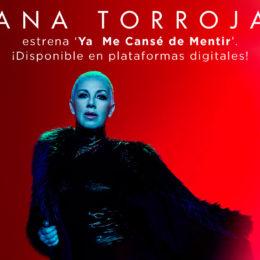 Ana Torroja estrena 'Ya Me Cansé de Mentir'