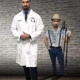 AL SON DE LA PLENA DOCTOR RINDE HOMENAJE A LOS QUE LUCHAN POR EL FIN DE LA PANDEMIA